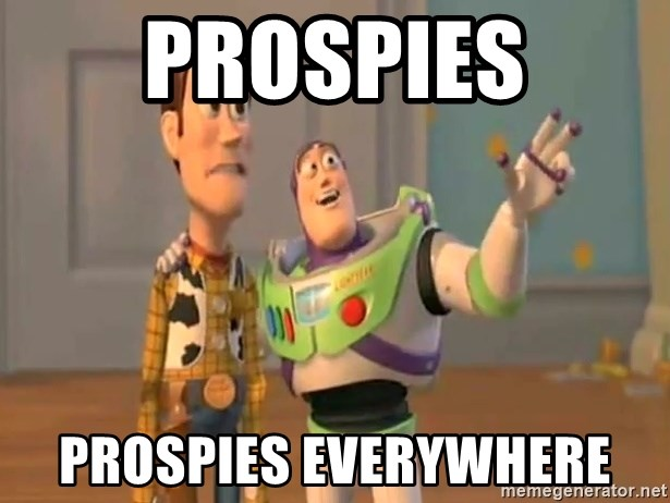 X, X Everywhere  - Prospies prospies everywhere