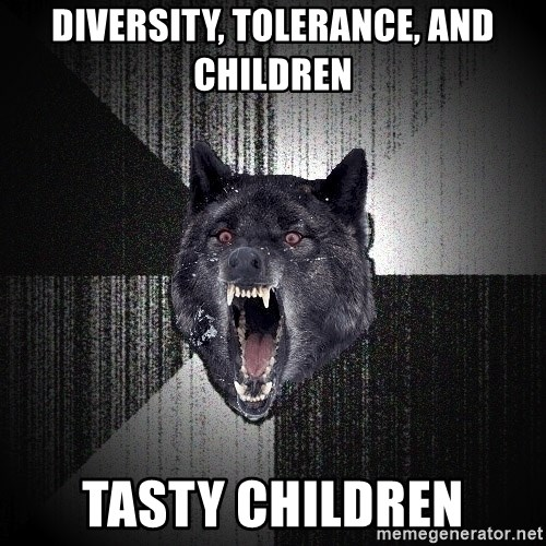 flniuydl - diversity, tolerance, and children tasty children