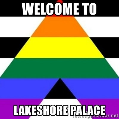 Bad Straight Ally - WELCOME TO  LAKESHORE PALACE
