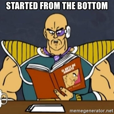 El Arte de Amarte por Nappa - STARTED FROM THE BOTTOM