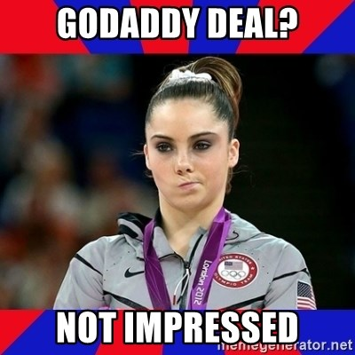 Mckayla Maroney Does Not Approve - GoDaddy Deal? Not Impressed