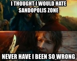 Never Have I Been So Wrong - i thought i would hate sandopolis zone never have i been so wrong