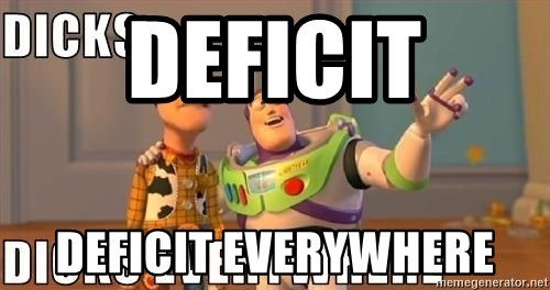 Xx Everywhere - Deficit deficit everywhere