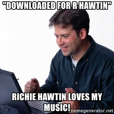 """Richie hawtin on twitter: """"""""downloaded""""does not mean""""supported."""