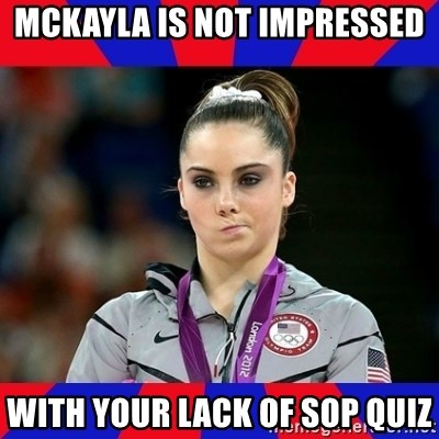 Mckayla Maroney Does Not Approve - MCKAYLA IS NOT IMPRESSED WITH YOUR LACK OF SOP QUIZ