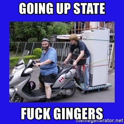 Motorfezzie - going up state fuck gingers