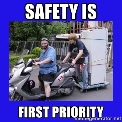 Motorfezzie - safety is first priority
