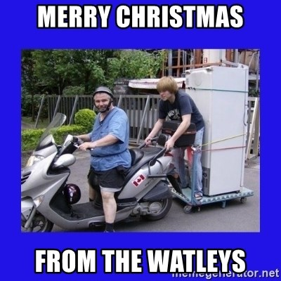 Motorfezzie - merry christmas from the watleys