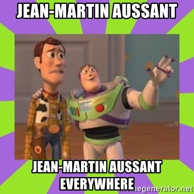 X, X Everywhere  - jean-martin aussant jean-martin aussant everywhere