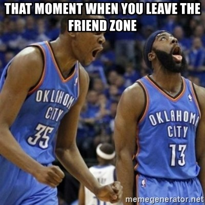 Kd & James Harden - That MOMENT WHEN YOU LEAVE THE FRIEND ZONE