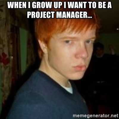 Flame_haired_Poser - WHEN I GROW UP I WANT TO BE A PROJECT MANAGER...