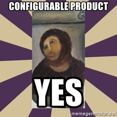 Retouched Ecce Homo - Configurable product yes