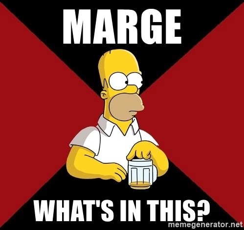 Homer Jay Simpson - MARGE WHAT'S IN THIS?