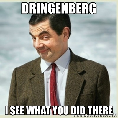 MR bean - Dringenberg I see what you did there