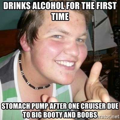 Whipped Boyfriend Perry - Drinks alcohol for the first time stomach pump after one cruiser due to big booty and boobs