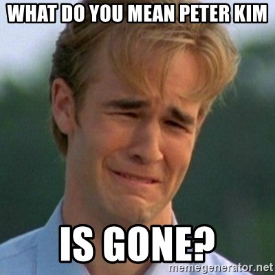 90s Problems - What dO you mean Peter Kim Is gone?