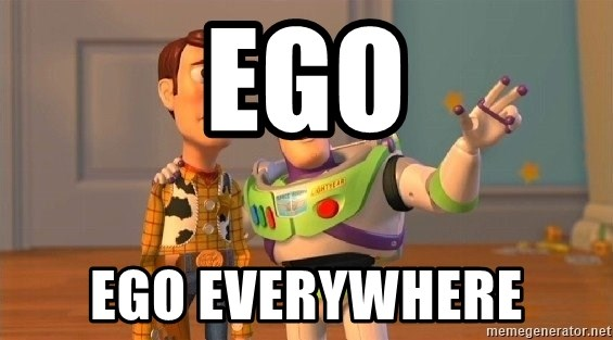 Consequences Toy Story - Ego Ego everywhere
