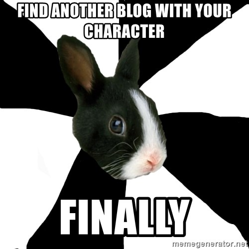 Roleplaying Rabbit - Find another blog with your character Finally