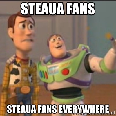 Buzz - Steaua fans steaua fans everywhere