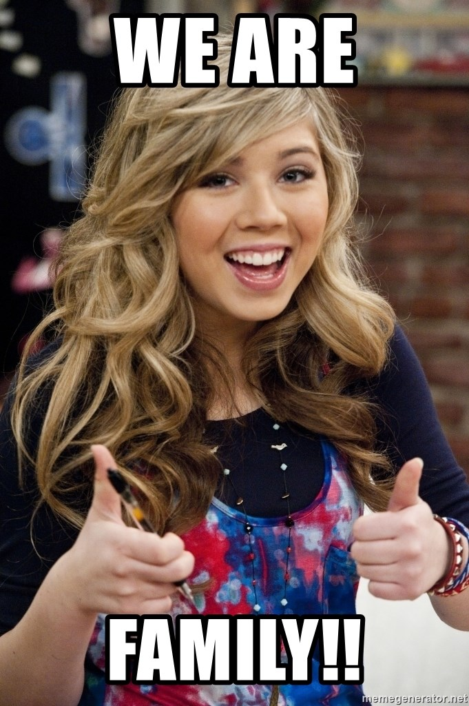 sucess sam puckett - WE ARE FAMILY!!