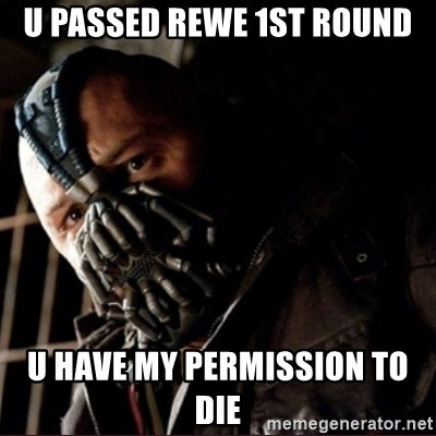 Bane Permission to Die - U PASSED REWE 1ST ROUND U HAVE MY PERMISSION TO DIE