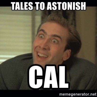 Nick Cage - Tales to astonish cal