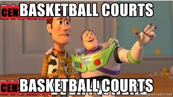 Toy Story Everywhere - Basketball Courts Basketball courts