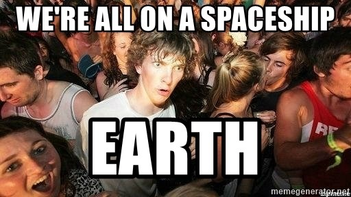 -Sudden Clarity Clarence - We're all on a spaceship earth