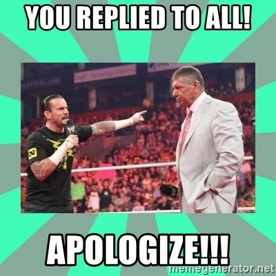 CM Punk Apologize! - you replied to all! apologize!!!