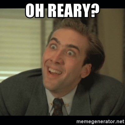 Nick Cage - OH REARY?