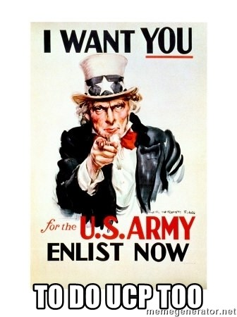 I Want You -  TO DO UCP TOO