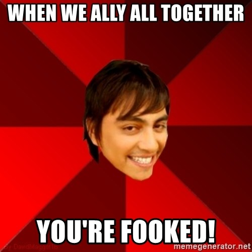 Un dia con paoly - When we ally all together you're fooked!