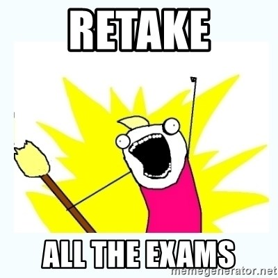 All the things - RETAKE All the exams