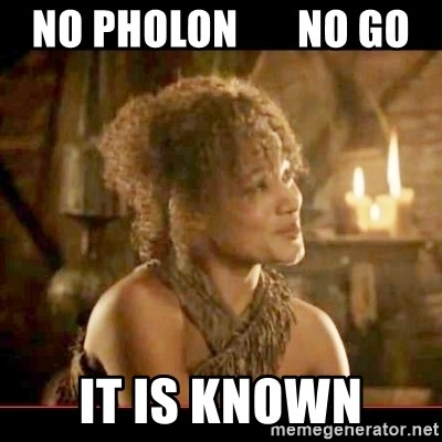It is known lady - no pholon       no go it is known