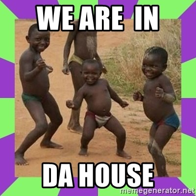 african kids dancing - WE ARE  IN  DA HOUSE