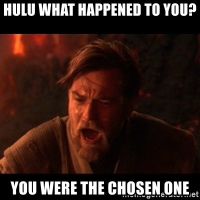 You were the chosen one  - Hulu What Happened to YOU? You Were the chosen one