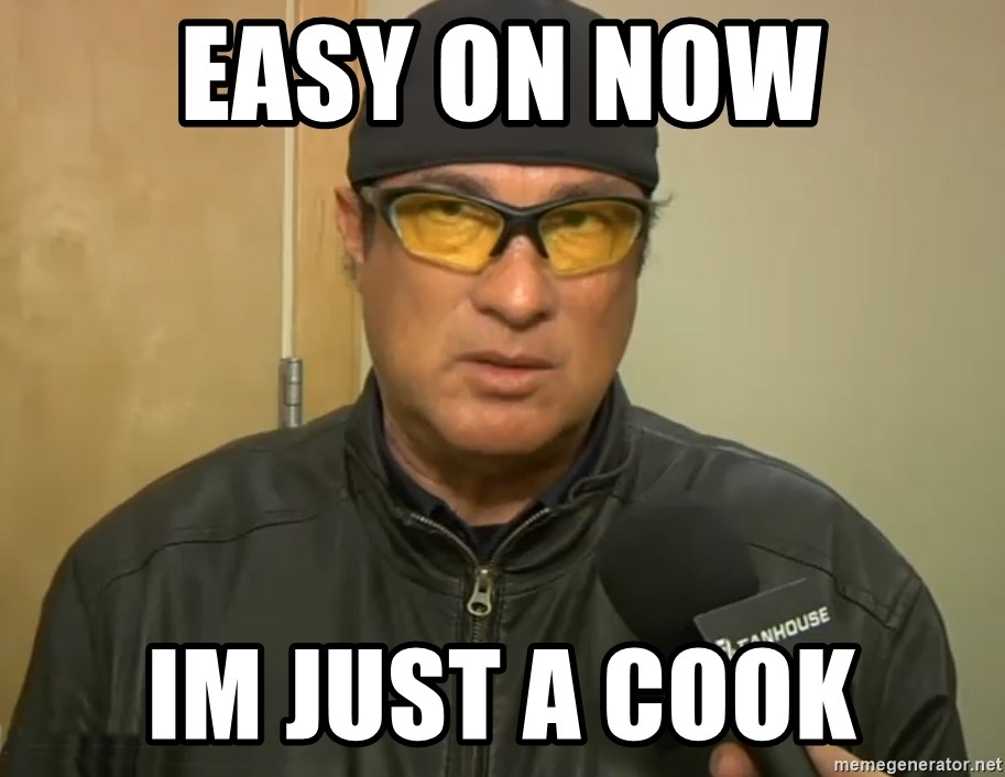 Steven Seagal Mma - Easy on now Im just a Cook