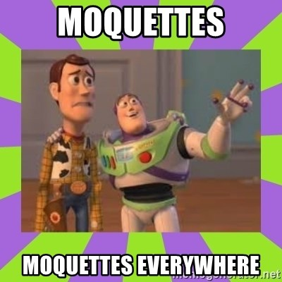 X, X Everywhere  - MoquetteS MoquetteS EVERYWHERE