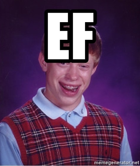 Bad Luck Brian - ef