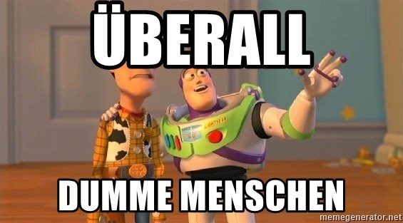 Consequences Toy Story - ÜBERALL DUMME MENSCHEN