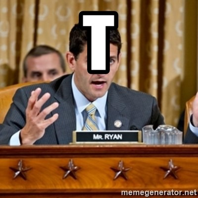 Paul Ryan Meme  - t
