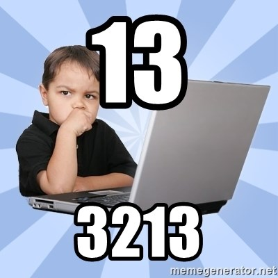 Programmers son - 13 3213