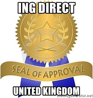 Seal Of Approval - ING DIRECT UNITED KINGDOM