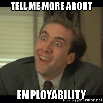 Nick Cage - tell me more about employability