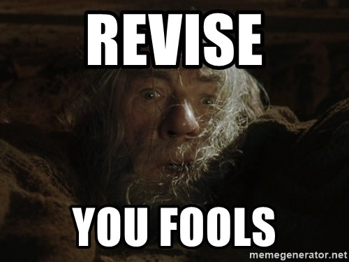gandalf run you fools closeup - REVISE You fools