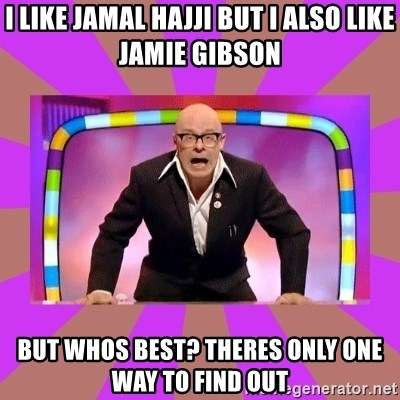 Harry Hill Fight - i like jamal hajji but i also like jamie gibson but whos best? theres only one way to find out
