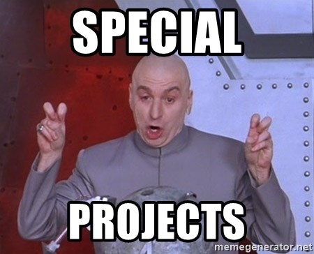 Dr. Evil Air Quotes - Special Projects