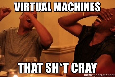 Jay-Z & Kanye Laughing - Virtual Machines That Sh*t Cray