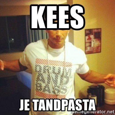 Drum And Bass Guy - KEES  JE TANDPASTA