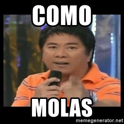 You don't do that to me meme - como  molas